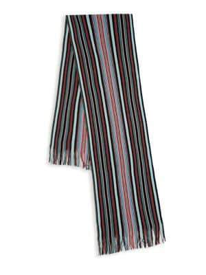 Missoni Striped Wool Blend Scarf