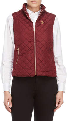U.S. Polo Assn. Quilted Moto Vest