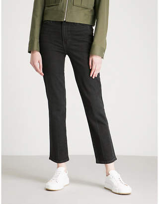Paige Margot Straight high-rise jeans