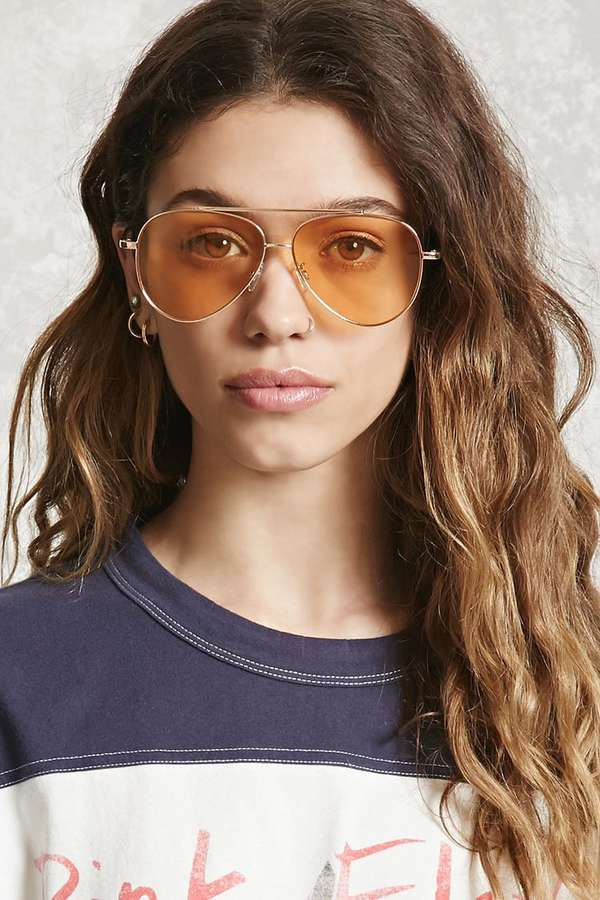 Aviator Sunglasses in multiple colors. Only $7.90 now at Forever21.