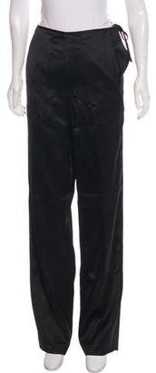 Donna Karan Wide-Leg High-Rise Pants