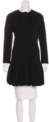 Diane von Furstenberg Virgin Wool Quilted Coat