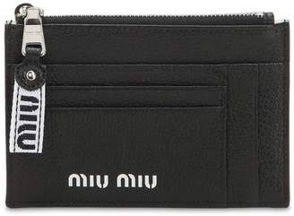 Miu Miu Color Block Leather Sport Wallet