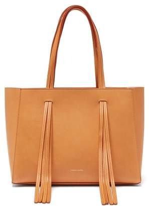 Mansur Gavriel Fringe Leather Tote - Womens - Tan