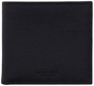 Giorgio Armani Navy Leather Wallet