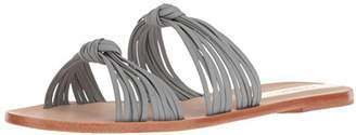 Kaanas Women's Iguazu Multi Strap Knotted Flat Leather Sandal