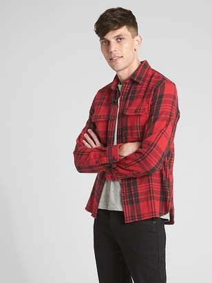 Gap Heavyweight Flannel Overshirt