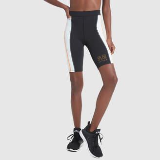 P.E Nation Camber Striped Bike Shorts