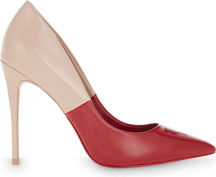 ALDO Stessy two-tone patent courts