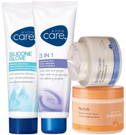 Avon Care & Solutions 4-Piece Care Pack