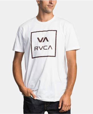 RVCA Men Fill All The Way Camo Logo Graphic T-Shirt