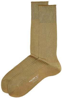Falke No. 10 Ribbed Cotton Socks