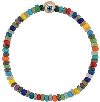 Luis Morais evil eye beaded bracelet
