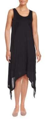 Fringed Sleeveless Dress $69 thestylecure.com