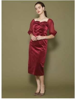 LAGUNAMOON (ラグナムーン) - LAGUNAMOON LADYベルベットタイトドレス