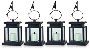 Bed Bath & Beyond Solar Umbrella Hanging Lights
