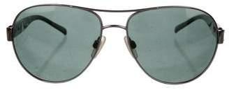 Burberry Aviator Tinted Sunglasses