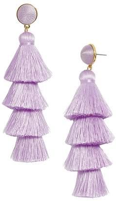 BaubleBar Gabriela Tiered Tassel Earrings