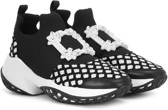 Roger Vivier Viv' Run Strass Buckle sneakers