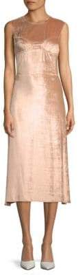 Tome Picasso Velvet Midi Dress