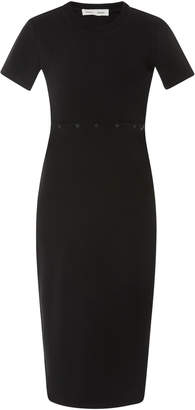 Proenza Schouler PSWL Cutout Cotton Midi Dress