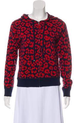 Marc by Marc Jacobs Patterned Hooded Sweater