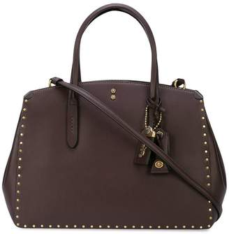 Coach Cooper Carryall with rivets tote