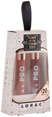 LORAC 2-pc. Toast of the Town PRO Liquid Lipstick Gift Set - Limited Edition $20 thestylecure.com