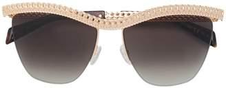Moschino chain frame sunglasses