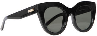 Le Specs Air Heart Sunglasses $69 thestylecure.com