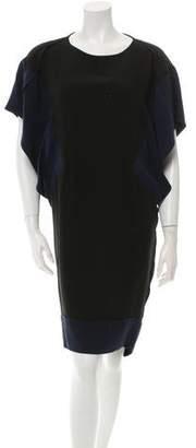 Ohne Titel Bicolor Silk Dress