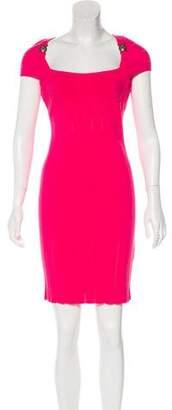 Versace Cutout Bodycon Dress