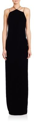 Ralph Lauren Collection Winsor Velvet Gown $3,290 thestylecure.com