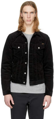 Nudie Jeans Black Corduroy Billy Jacket