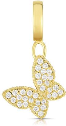 Roberto Coin 18k Gold & Diamond Butterfly Charm