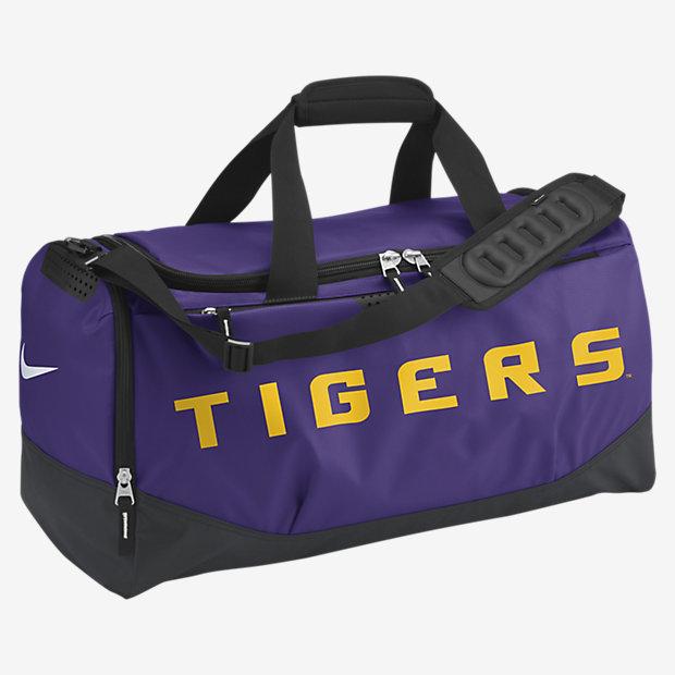 Nike Team Training Max Air (LSU) Duffel Bag (Medium)