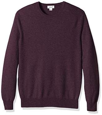 Williams Cashmere Men's Big and Tall 100% Cashmere Crew Neck Sweater