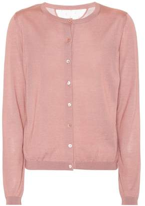 RED Valentino Silk and cashmere cardigan