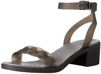 crocs Women's Isabella Block Heel W Wedge Sandal $59.99 thestylecure.com
