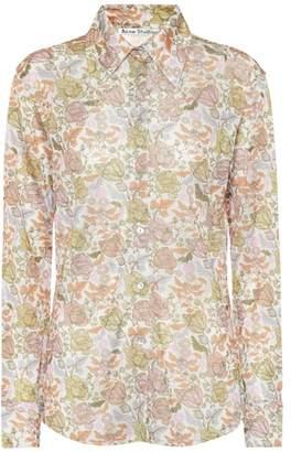 Acne Studios Floral shirt