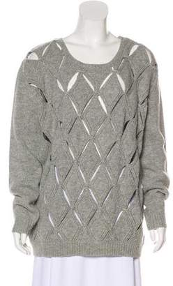 Opening Ceremony Long Sleeve Knit Sweater
