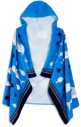 Aquarium Kids Hooded Beach Towel
