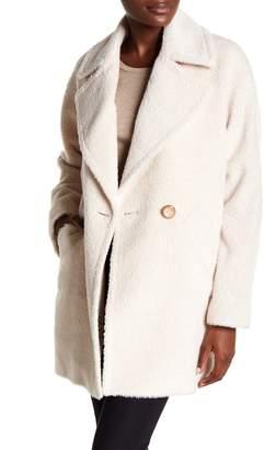 Trina Turk Nancy Double Breasted Wool Blend Coat