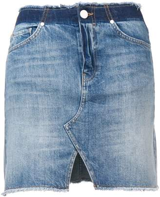 Pinko Dreamer denim mini skirt
