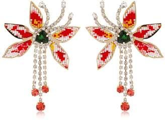 Shourouk Flower Amelia Earrings