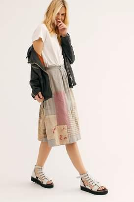 Magnolia Pearl Crazy Quilt Skirt