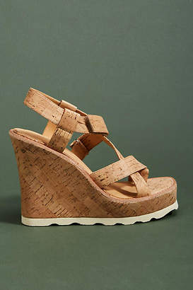 Bill Blass Rae Wedge Sandals