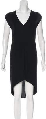 Zero Maria Cornejo Sleeveless High-Low Dress