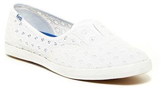 Keds Chillax Mini Eyelet Slip-On Sneaker $40 thestylecure.com