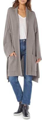 Michael Stars Shawl Collar Cashmere Blend Cardigan